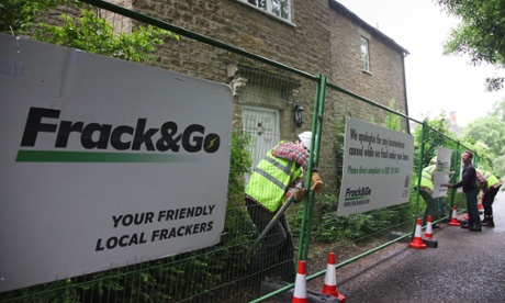 David Cameron's home in Dean, Oxfordshire, being turned into a 'fracking site' in protest at shale gas development.