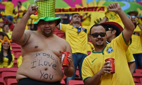A supporter of Didier Drogba...