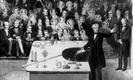 Michael Faraday's 1856 Christmas Lecture