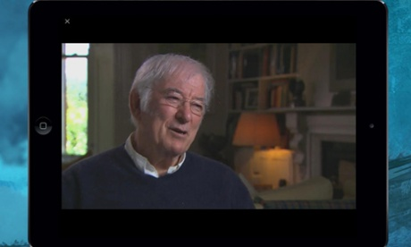 Seamus Heaney: Five Fables app for iPhone and iPad.