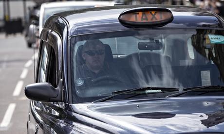 Black-cab driver
