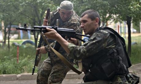 pro russian rebels