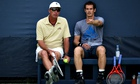 Winning team: Ivan lendl and Andy Murray.