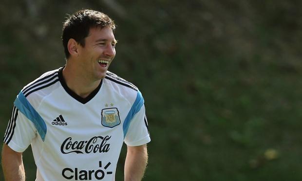 Leo Messi Argentina World Cup 2014