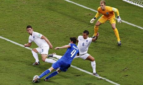England's Cahill and Jagielka