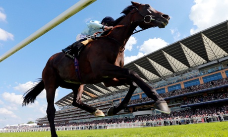 Telescope, ridden by Ryan Moore, is an easy winner of the Hardwicke Stakes on day five of Royal Ascot.