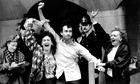 Gerry Conlon on his release from prison in 1989