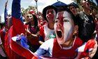 Costa Rica fans San Jose world cup brazil italy 1-0