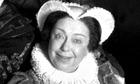 Patsy Byrne as 'Nursie' in Blackadder