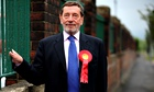 David Blunkett campaigning in She
