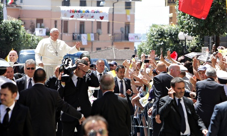 Pope Francis visits Calabria