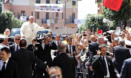 Pope Francis visits Calabria