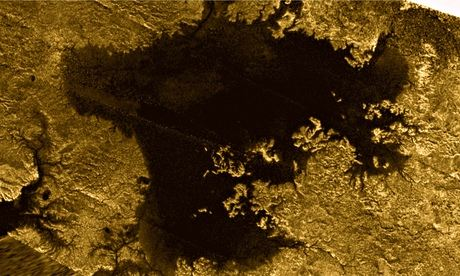 Saturn's moon Titan mystery object
