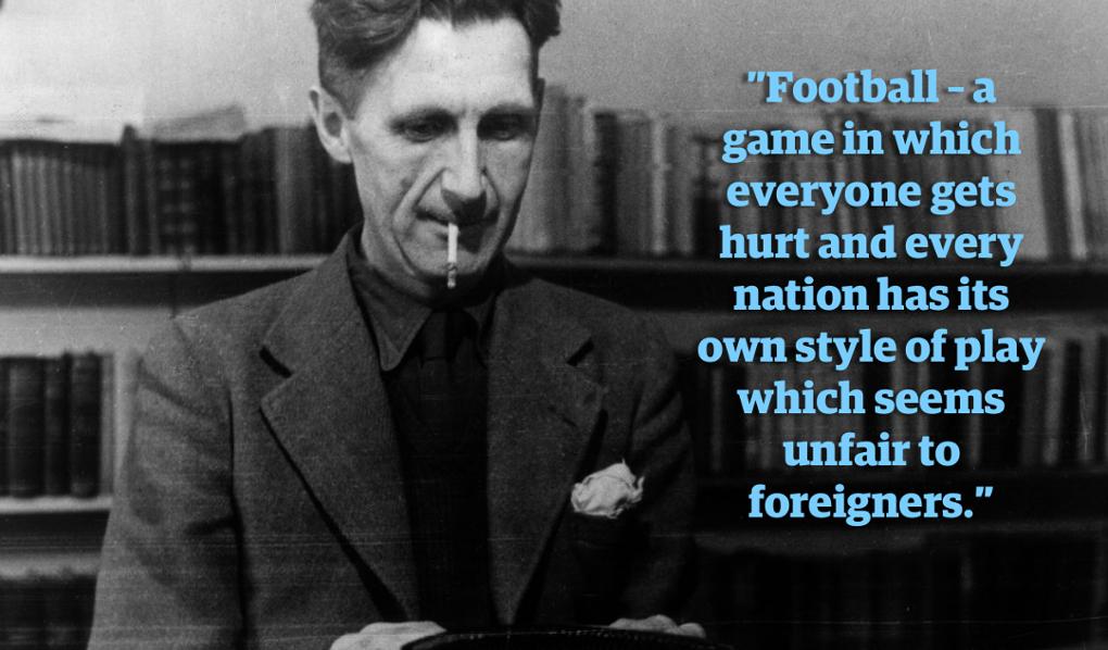 George orwell essay football