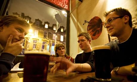 Edinburgh University students
