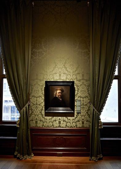 Rembrandt Self-Portrait, 1669