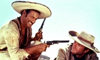 Eli Wallach with Clint Eastwood in The Good, the Bad and the Ugly.