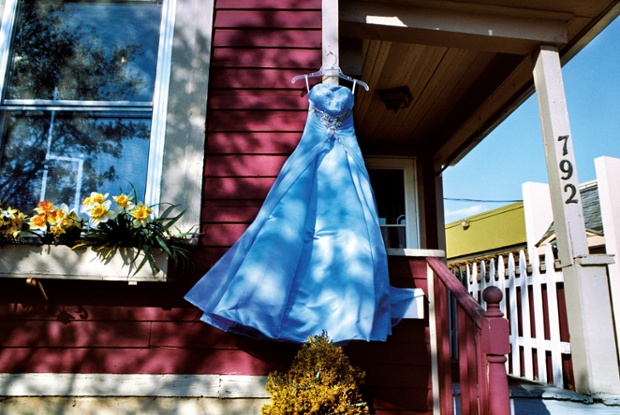 Blue Second-hand Prom Dress