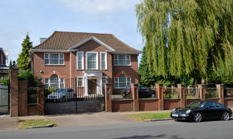 A very big house in Barnet
