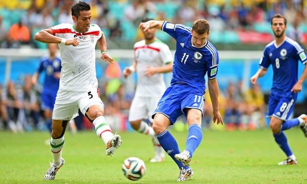 Skor Akhir Bosnia vs Iran, Bosnia Ajak Iran Pulang Kampung
