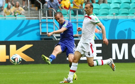 Avdija Vrsajevic wellies home a third.