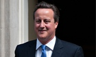 David Cameron couldn't believe his luck today.