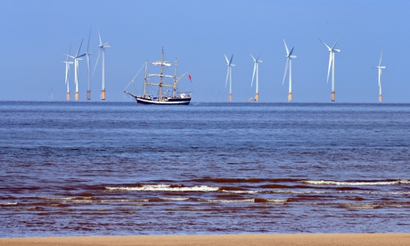Wind and other renewables generated a fifth of Britain's electricity in early 2014