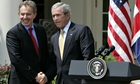 President Bush, Tony Blair