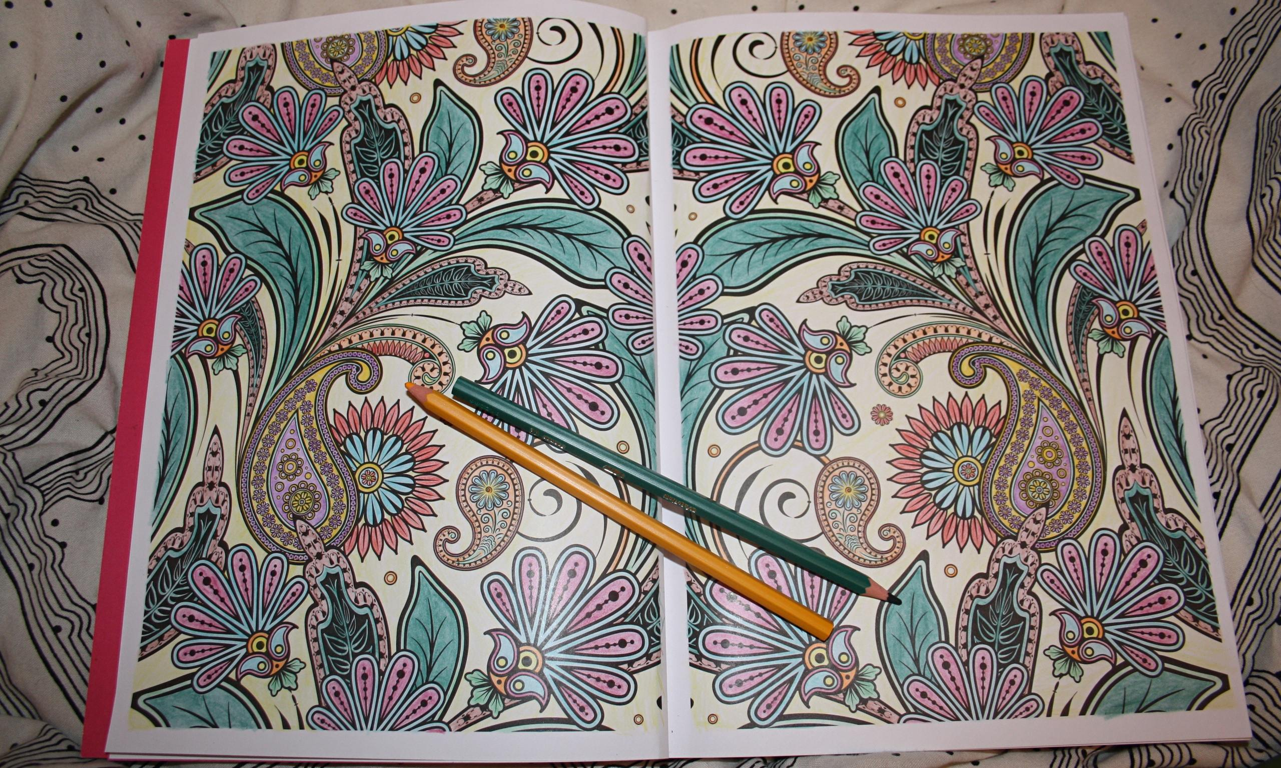 Why colouring-in books are the new therapy