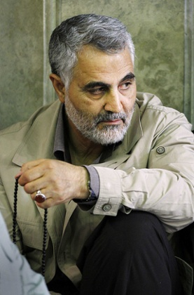Commander of IRGC Quds force