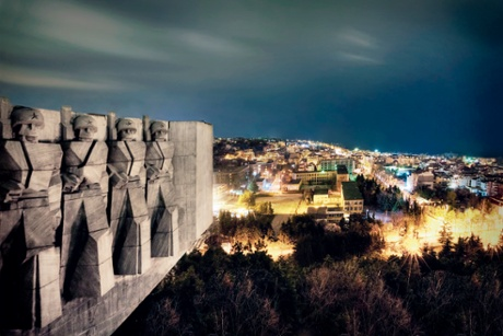 Bulgaria Soviet Friendship MonumentThe Soviet monument of friendship stands atop a hill reached by 301 steps. Designed by Kamen Goranov and sculpted by Alyosha Kafedzhiyski and Evgeni Baramov, the monument symbolised the kinship between Bulgaria and the USSR.