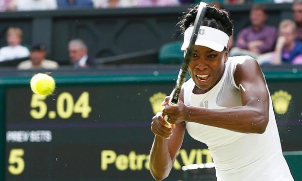 Venus Williams. Caught in time.