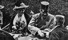 Archduke Franz Ferdinand and his wife Sophie shortly before their assassination