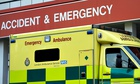 Ambulance A&E department