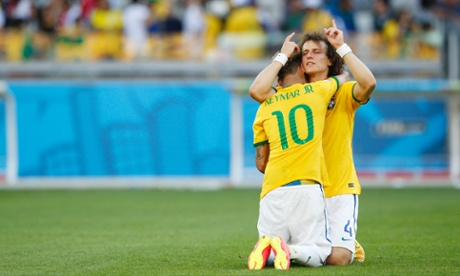 Relief for Neymar and David Luiz