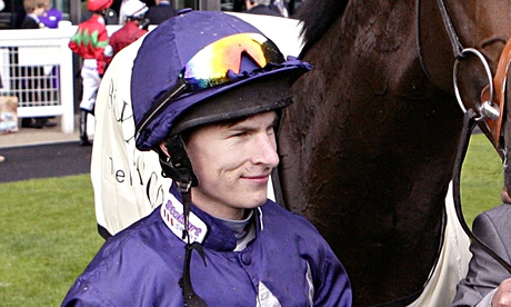 Richard Kingscote rides Red Icon for the Tom Dascombe stable in Pontefract's 3pm race