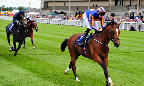 Gleneagles, ridden by Joseph O'Brien, winning the Barronstown Stud EBF Maiden Stakes at The Curragh