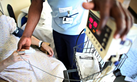 Dr Mark Porter, BMA chairman, claims ministers are attacking the overall financial viability of the NHS service, when patients are struggling to see GPs. Photograph: Christopher Furlong/Getty Images