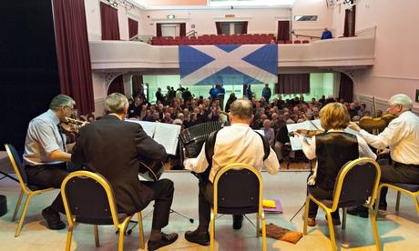 Scottish referendum debate at Helensburgh
