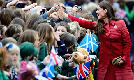 Duchess Of Cambridge Visit Crieff
