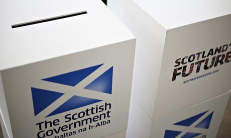 Scottish Cabinet Visit To Rutherglen for referendum