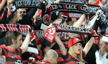 Western Sydney Wanderers fans
