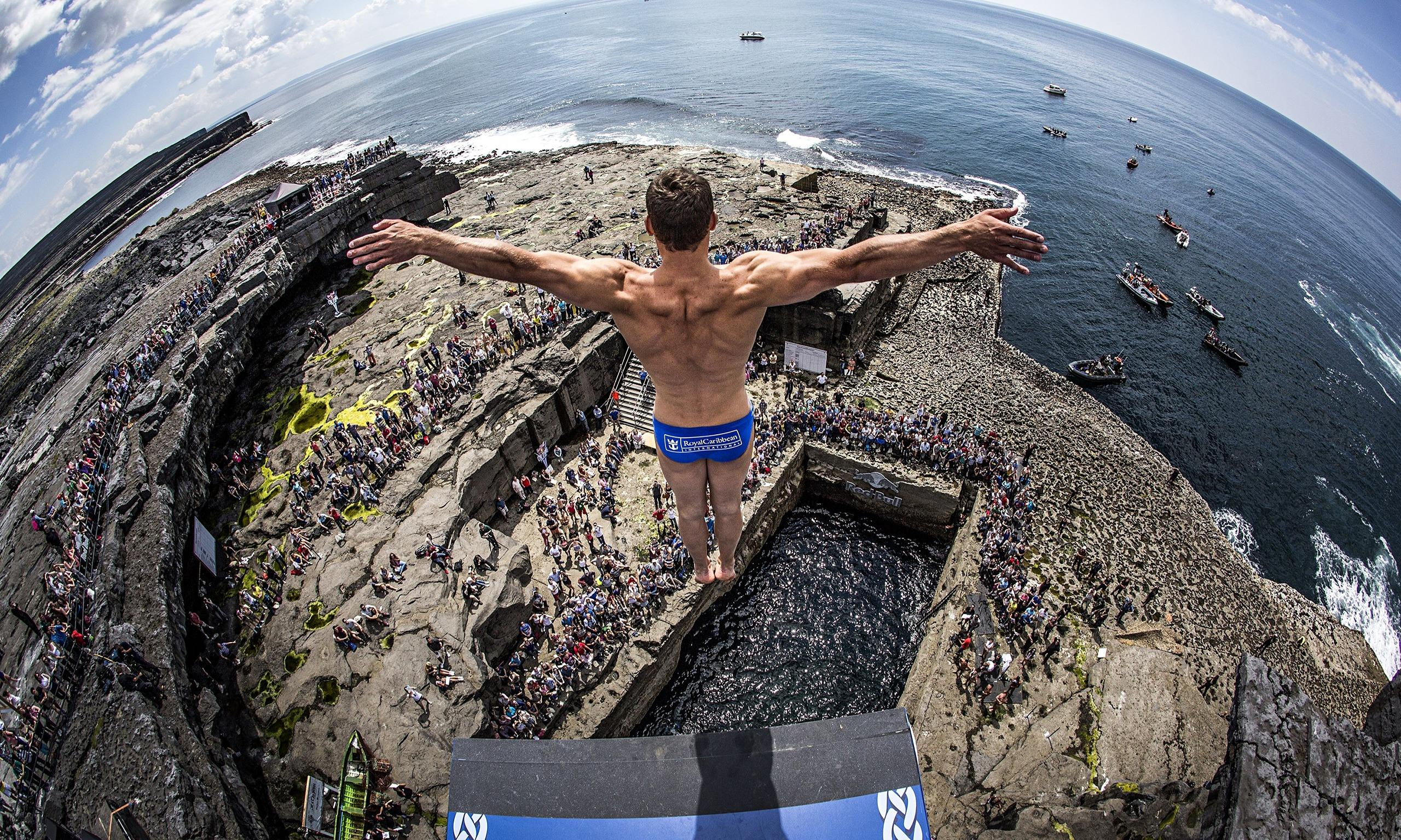 Eyewitness inishmore ireland world news the guardian - Highest cliff dive ...