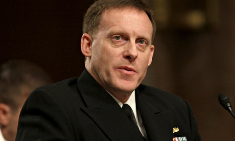 Admiral Michael Rogers, the new head of the NSA.