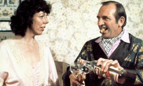 Leonard Rossiter, who once played Le Pétomane but we don't have a photo of that to hand, so here he is as Rigsby