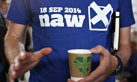 100 Days Of Campaigning Marked until Scotland referendum