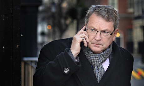 Lynton Crosby at Downing Street in January 2014