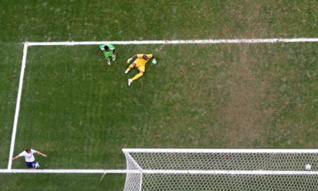 Its an own goal off the shin of Yobo and France are on their way to the quarter-final.