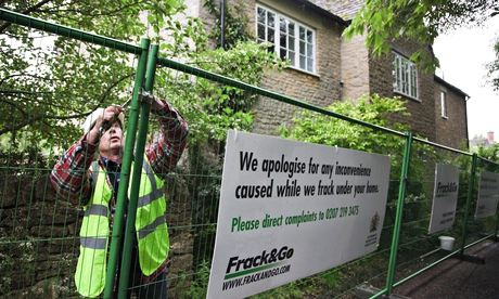 Greenpeace anti-fracking protesters