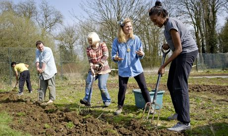 Oxgrow volunteers